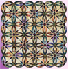 Bali Wedding Star Pattern - NEWLY UPDATED for 2014 - Great for Bali-Pop Jelly Rolls!