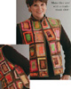 Windowpanes Vest Pattern
