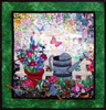 Spring Gardening Watercolor Quilt Kit