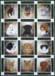 Rachel's Dog Kennel Watercolor Quilt Kit