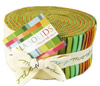 Moda Bella Solids Fabric Jelly Roll - Warm