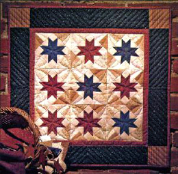 Scrappy Stars Wallhanging Quilt Kit