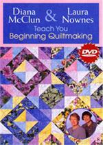 Teach You Beginning Quiltmaking DVD