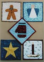 More Paper-Pieced Pot Holders Pattern