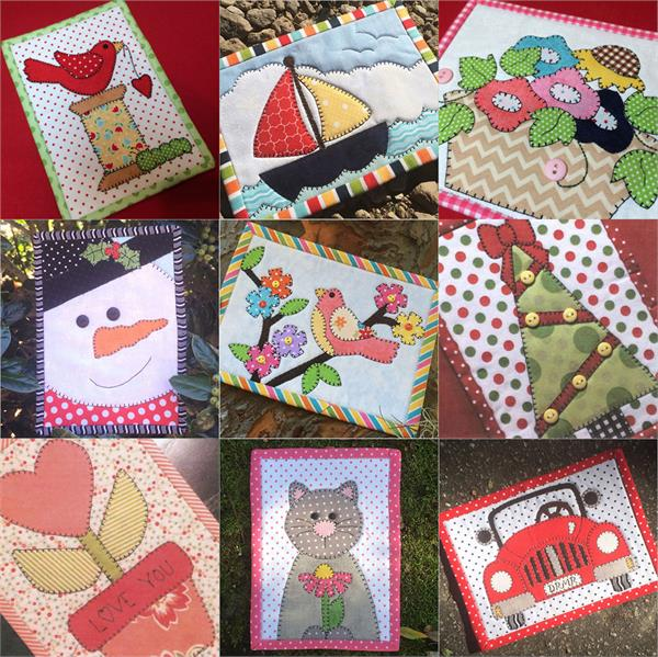 Mug Rug Mini Quilt Of The Month Series At Everything Quilts