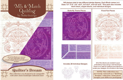 Quilter's Dream - Machine Embroidery