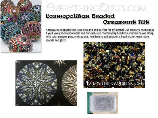 Beaded Ornament Kit - Cosmopolitan - EQ Exclusive!