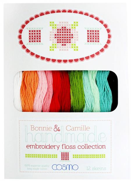 Lecien Bonnie and Camille Embroidery Floss Collection - Handmade