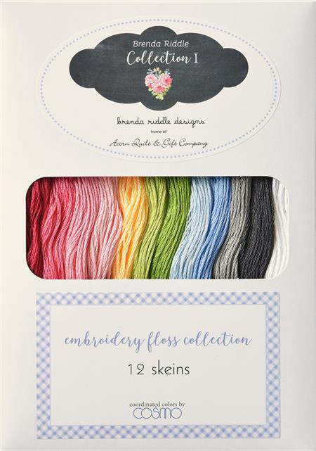 Lecien Brenda Riddle Guernsey Embroidery Floss Collection