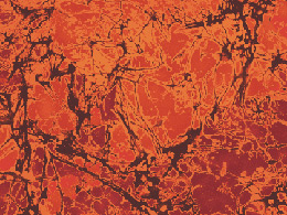 Benartex Paula Nadelstern Sunstone Fabric - Orange Red