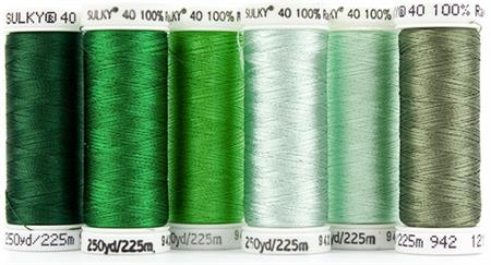 Sulky Birthstone Thread Series by MJ Kinman - May Emerald