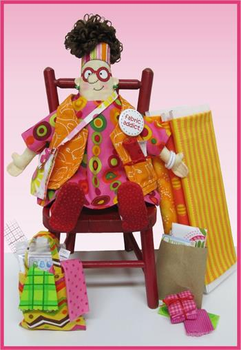 Amy Bradley Fabric Addict Doll Pattern Plus