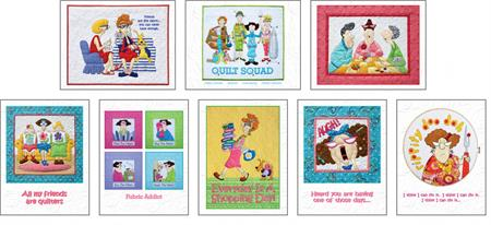 Amy Bradley Whimsical Notecard Set (8 Cards/Env)