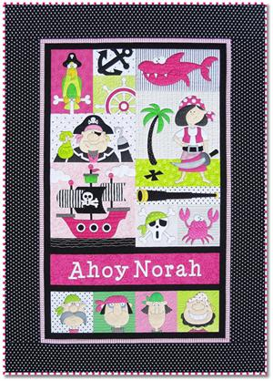 Pirates Quilt Kit - GIRL