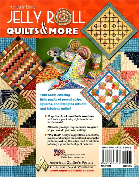 Jelly Roll Quilts & More Book