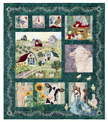 And On That Farm Quilt Kit - Includes Pre-cut & Pre-fused ... : precut quilt kit - Adamdwight.com