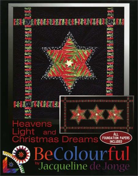 Heavens Light & Christmas Dreams 2 in 1 Pattern - Includes All Foundation Papers
