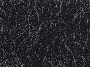 Anthology Blender Batik Fabric - Diamond Black with Silver Accent