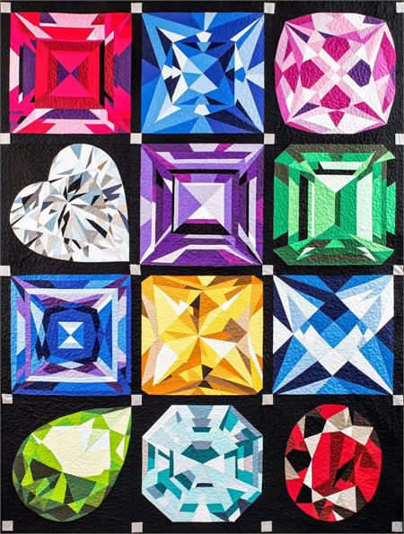 Birthstones 12 Pattern Set
