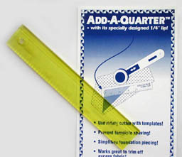 Add-a-Quarter Ruler