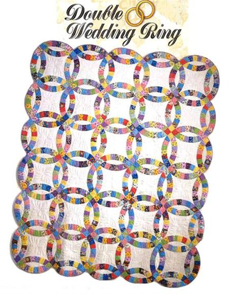Double Wedding Ring Quilt Kit