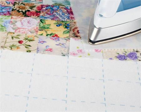 Fusible Grid for Watercolor Quilts