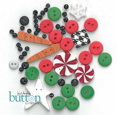 Holly Jolly Button Pack