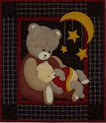 Baby Bear Wallhanging Quilt Kit