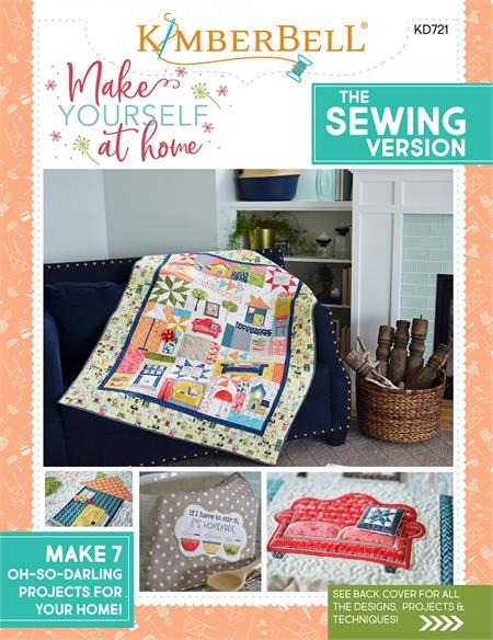 Kimberbell Make Yourself At Home PATTERN ONLY - SEWING Version