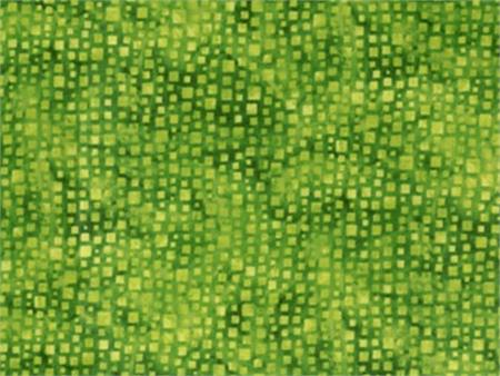 Hoffman Blender Fabric - Lime Geometric
