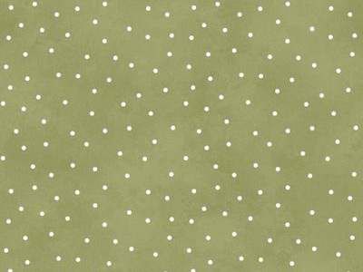 Maywood Studios Graceful Moments Scattered Dots Fabric - Leaf Green