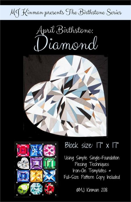MJ Birthstone PATTERN Series - APRIL Diamond