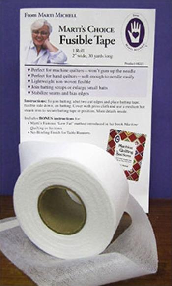 Marti's Choice Batting Tape - Fusible Non Woven 2 inch x 30 yds