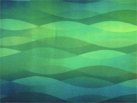 Hoffman Digital Fabric Print - Seaside River