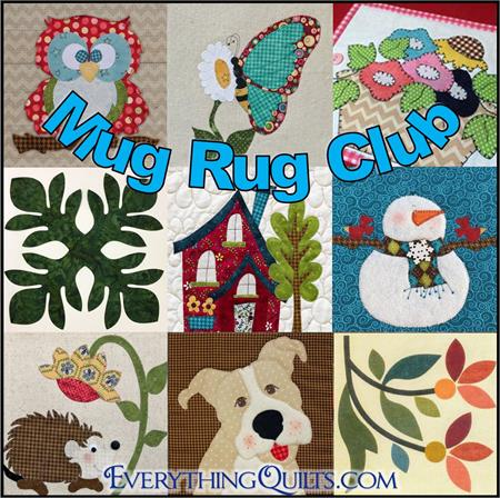 Mug Rug Mini Quilt of the Month Series