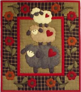 Wooly Sheep Wallhanging Quilt Kit