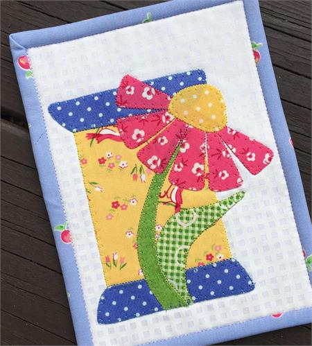 Daisy Spool Mug Rug Kit