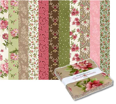 Maywood Studio Graceful Moments Fabric Charm Pack 5 X 5 At