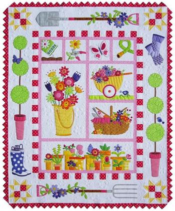 Garden Quilt Block Of The Month At Everything Quilts