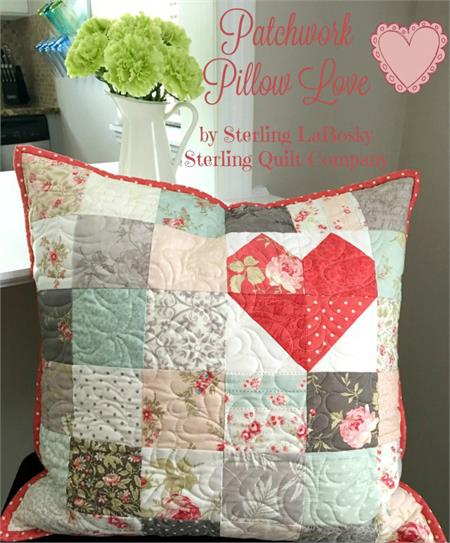 Quilted Poetry Pillow Kit - Easy Quilt-as-You-Go!