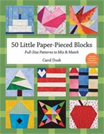 50 Little Paper-Pieced Blocks Book