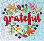 GRATEFUL Quilt Block Kit from the Imagine Series by Nancy Halvorsen