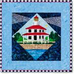 12 Lighthouse Series Quilt Kit - New Canal, LA
