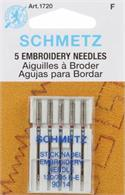 Schmetz Embroidery Needles 1720