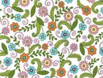 Moda Meadow Friends Fabric - Cloud White