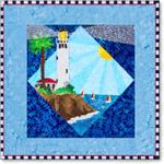 #1 Lighthouse Series Block Applique Kit -
