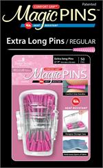 Pink Magic Pins - Extra Long Pins 50 ct