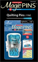 Magic Pins Fine Quilting Pins 100ct