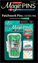 Magic Pins Patchwork - Extra Fine 100 ct