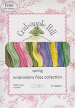Lecien Crabapple Hill Floss Collection - Spring